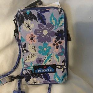 KAVU Go Time Bi-Fold Clutch Wallet Crossbody bag